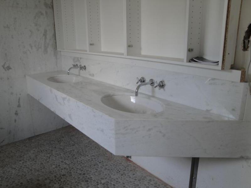 Badkamer oost vlaanderen badkamer ontwerp idee n voor uw huis samen met meubels - Lavabos ontwerp ...